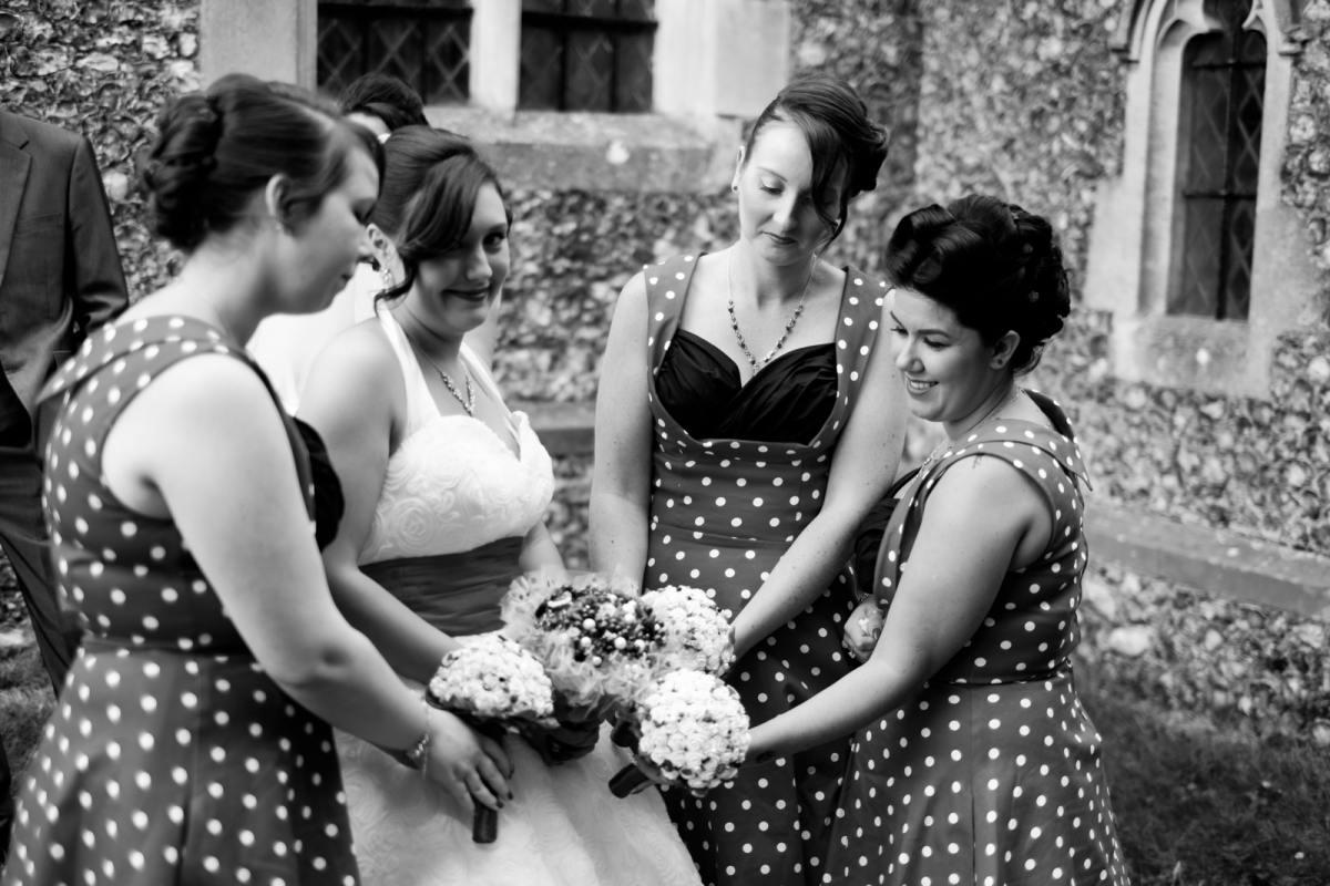 bridal fun wedding in kent