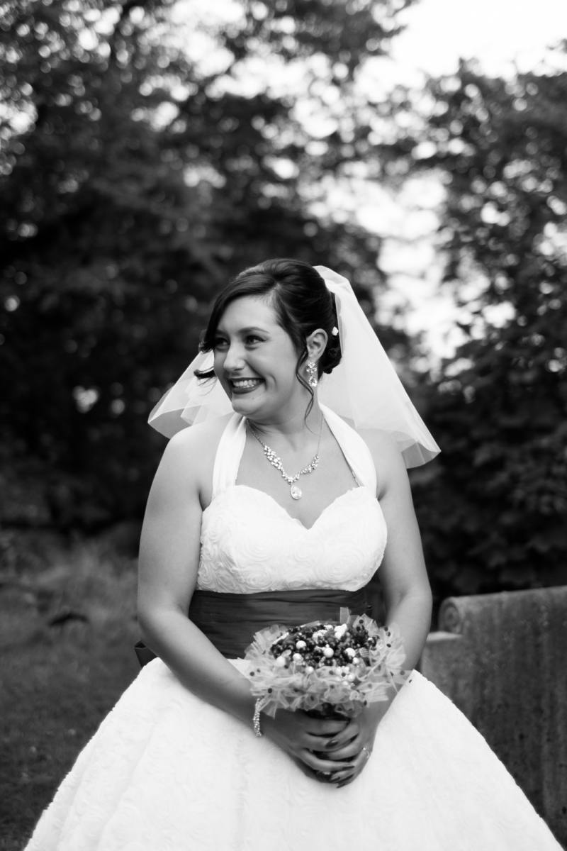 excited bride kent wedding happy excited