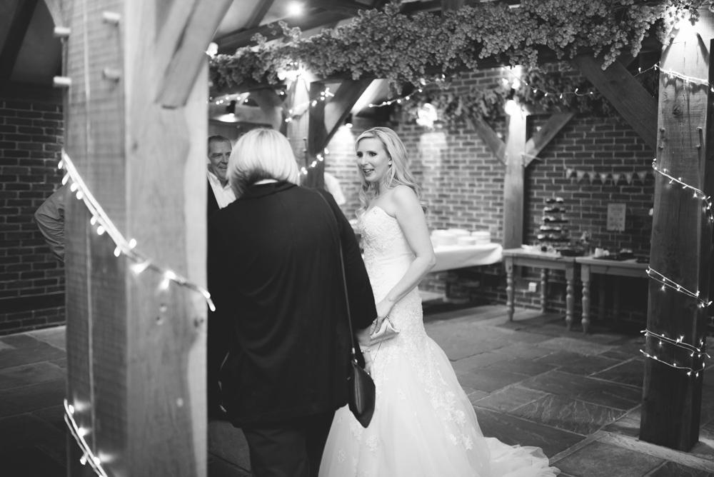 Bride at ferry house inn