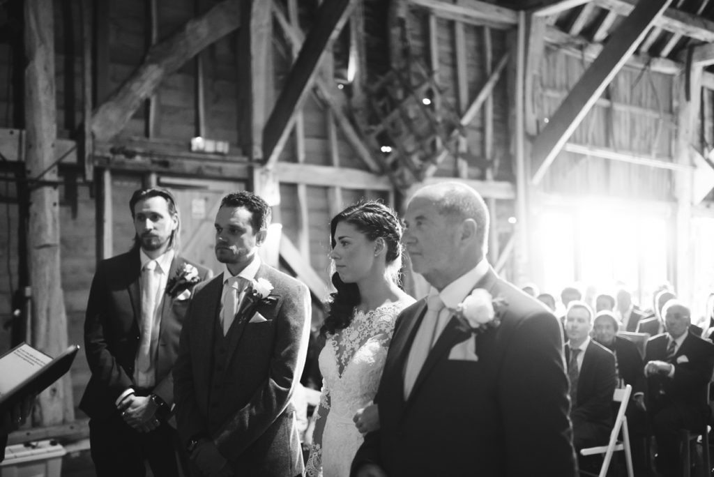 Getting Married in Kent at the Great Barn