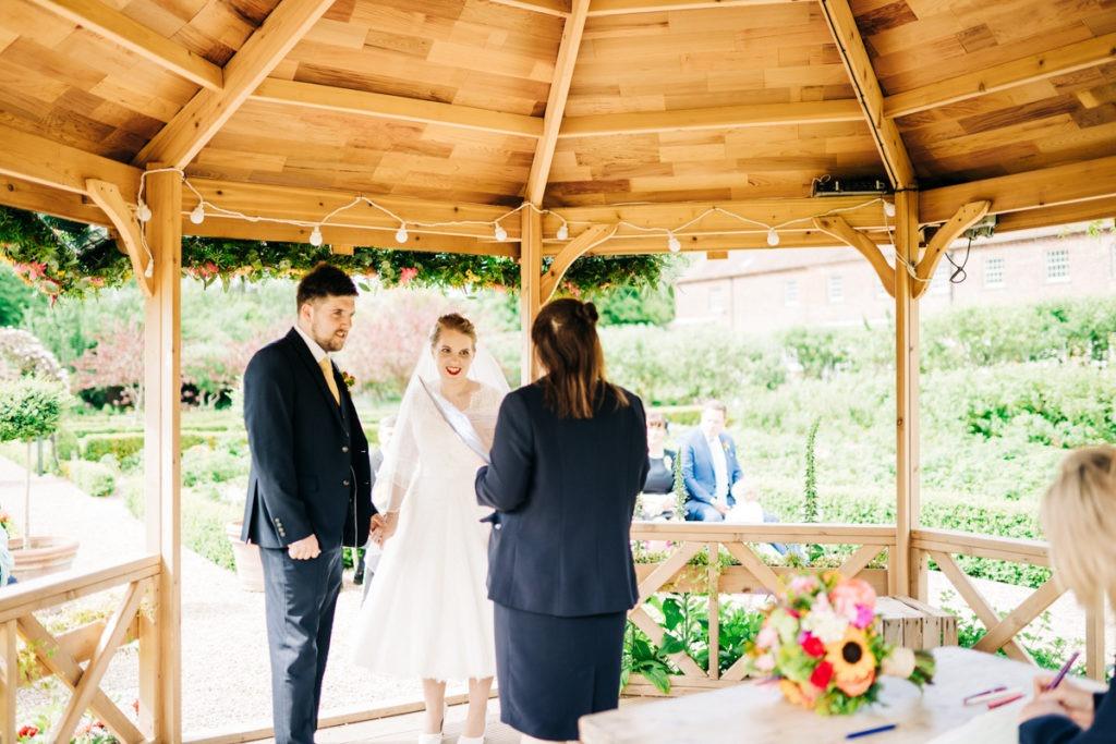 getting married at the secret garden in ashford