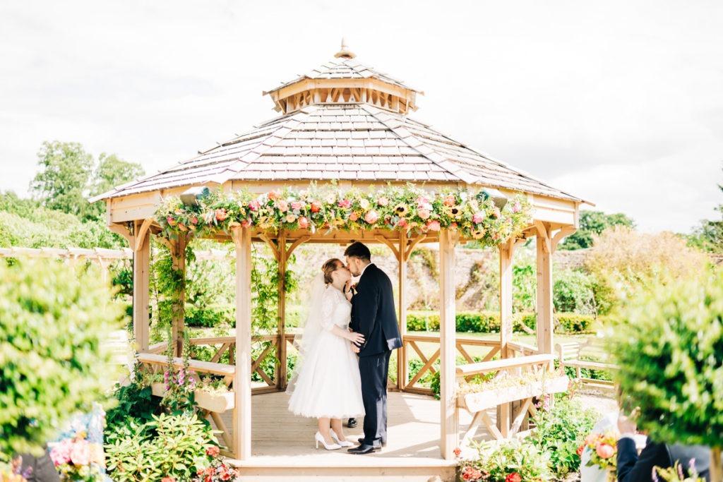 first kiss in Secret Garden