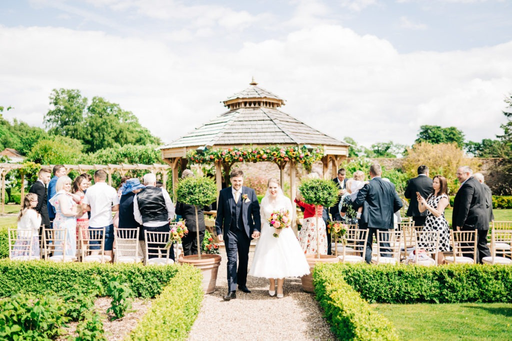 secret gardens outdoor ceremony