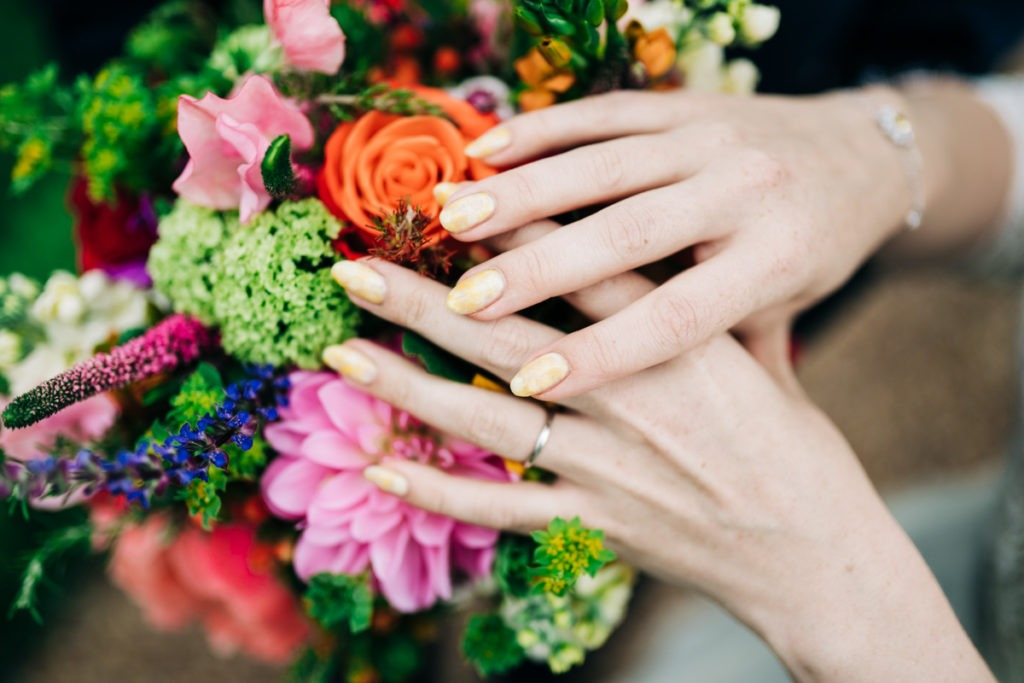 Nail designs at secret gardens ashford