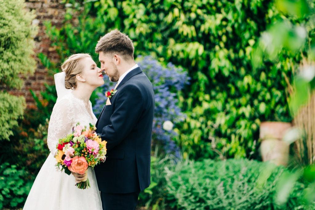 kent wedding photographer at secret gardens