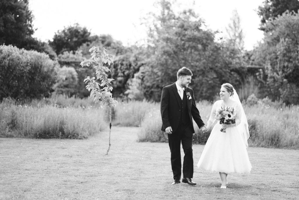 black and white photo at Secret Garden Kent