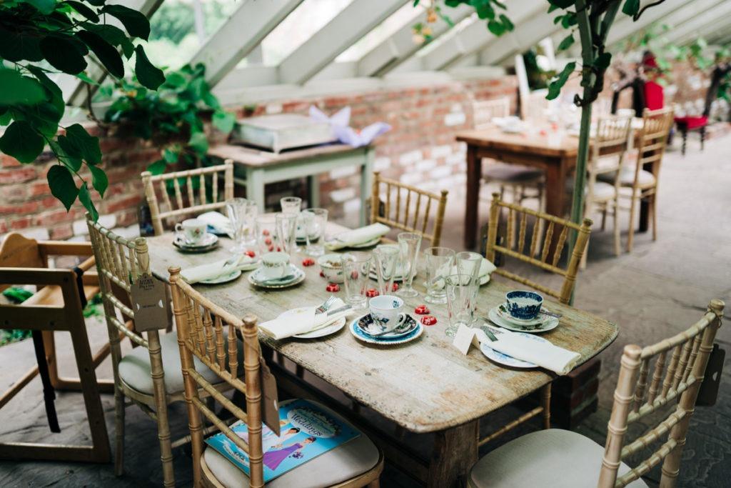 greenhouse at Secret Gardens