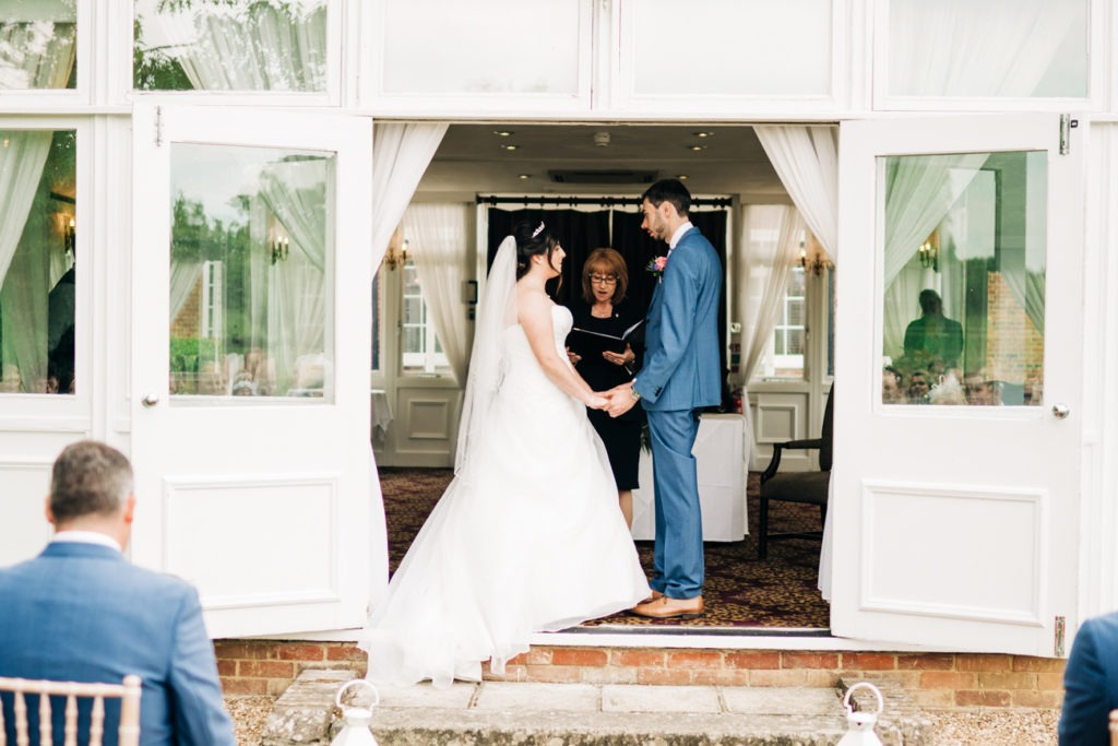 getting married at chilston park hotel