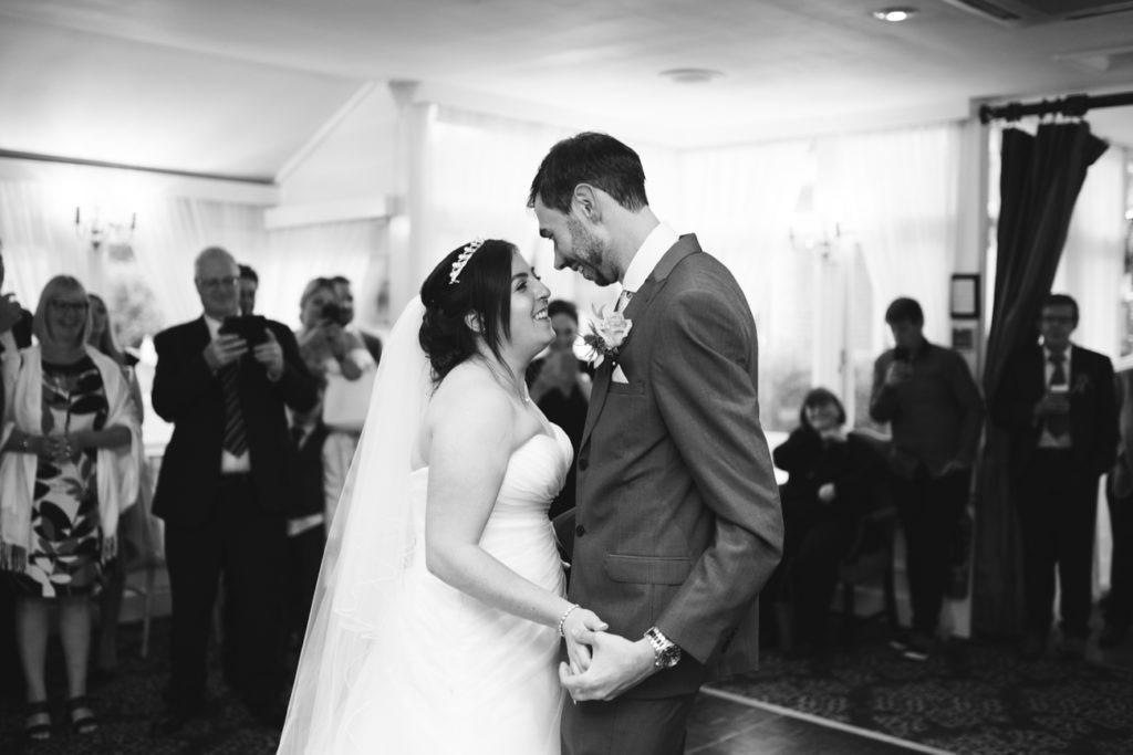 first dance chilston park wedding