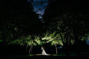 chilston park wedding portrait