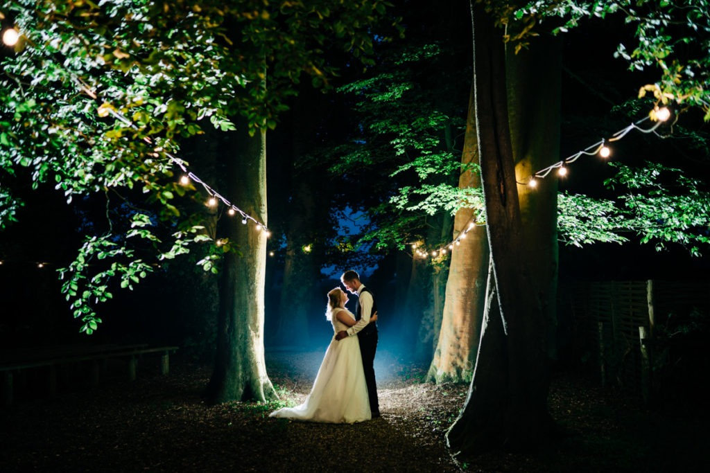 photograph at crown lodge kent wye wedding