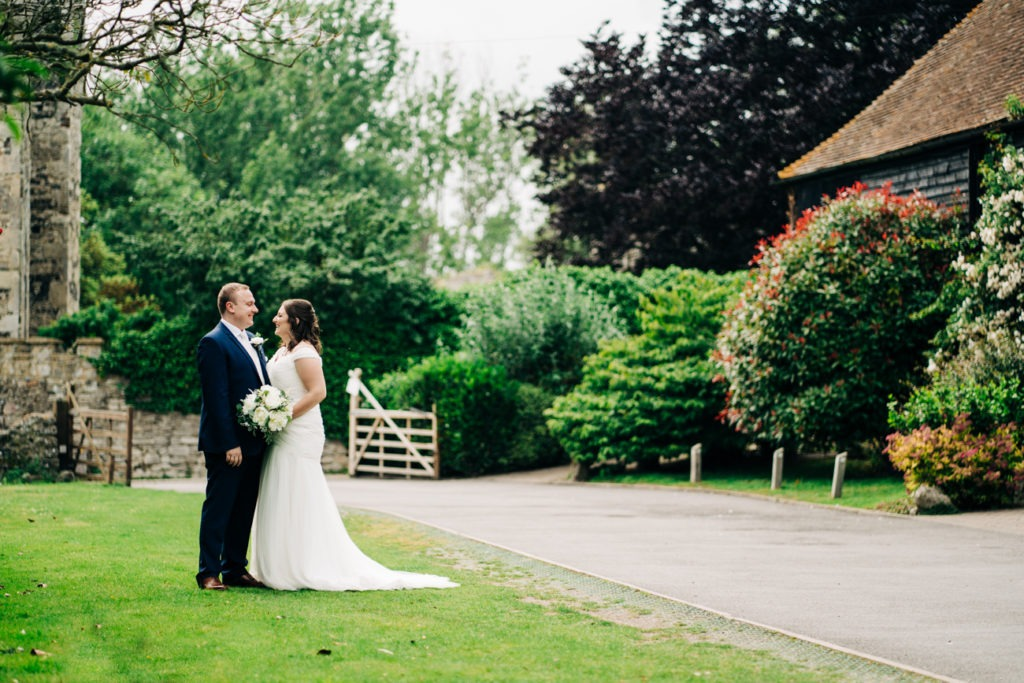 couples photos at the gorgeous cooling castle barn wedding