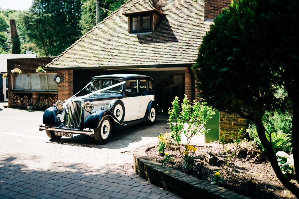 havenfield hall wedding car inhouse