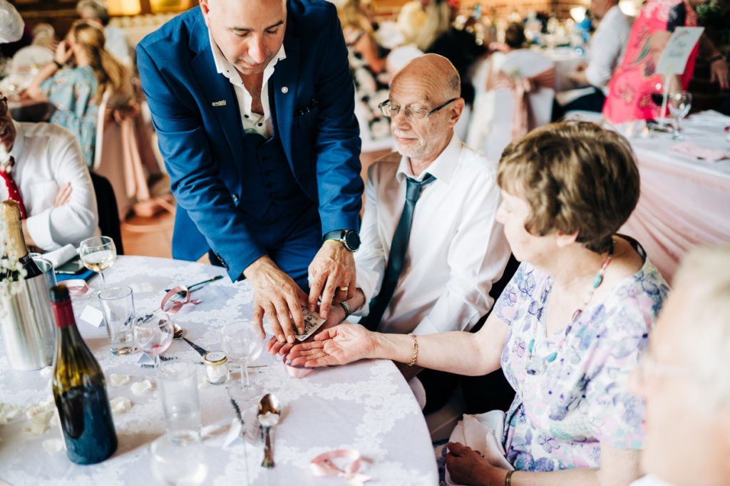 magic at north barn wedding aylesford