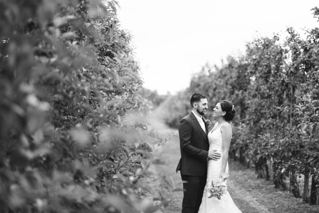 bride and groom twilight wedding barnyard upchurch
