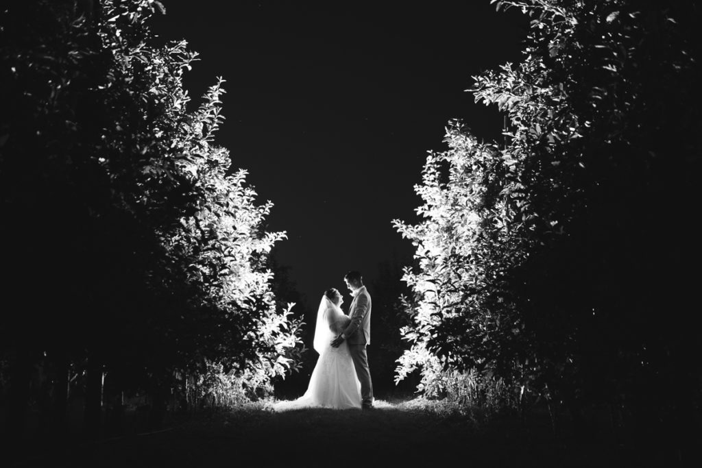 Natalya & Anthony – The Barnyard Twilight Wedding