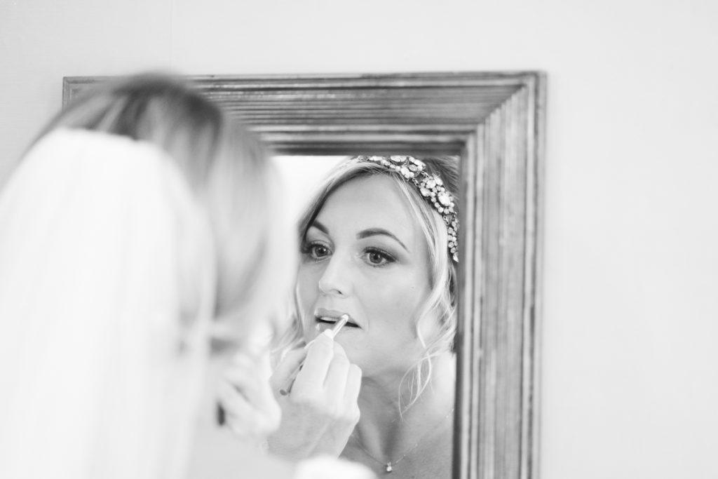 bride at Brenley Farm
