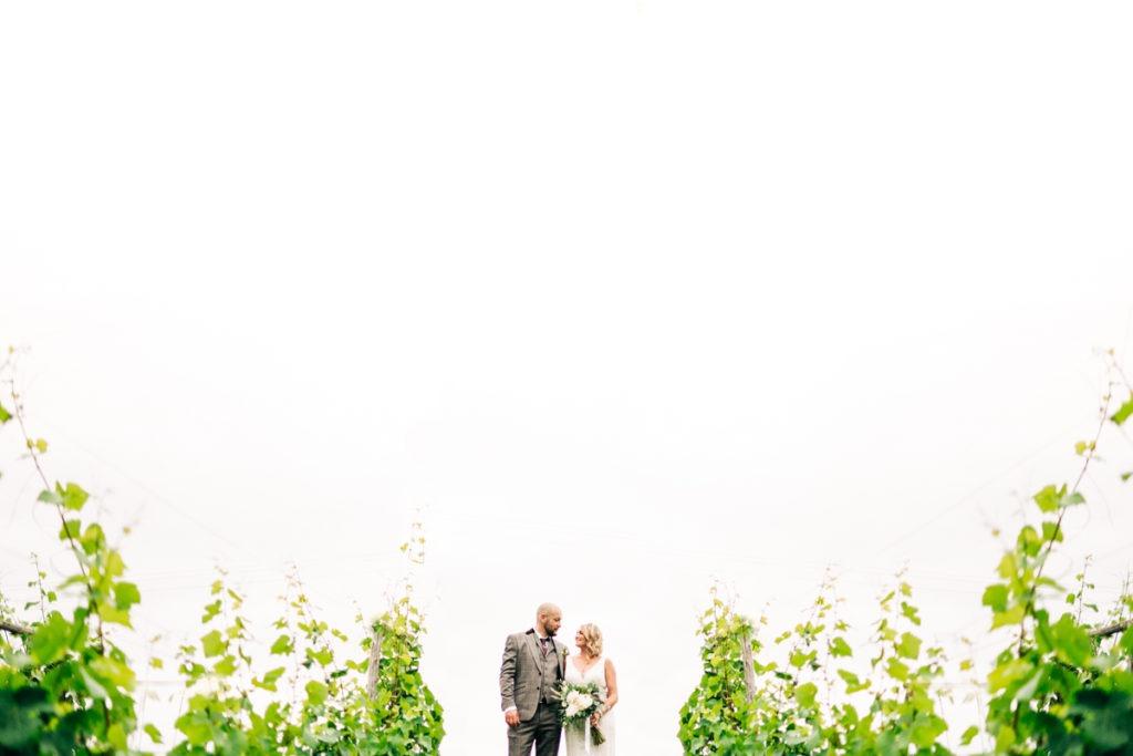couples portrait at Brenley Farm