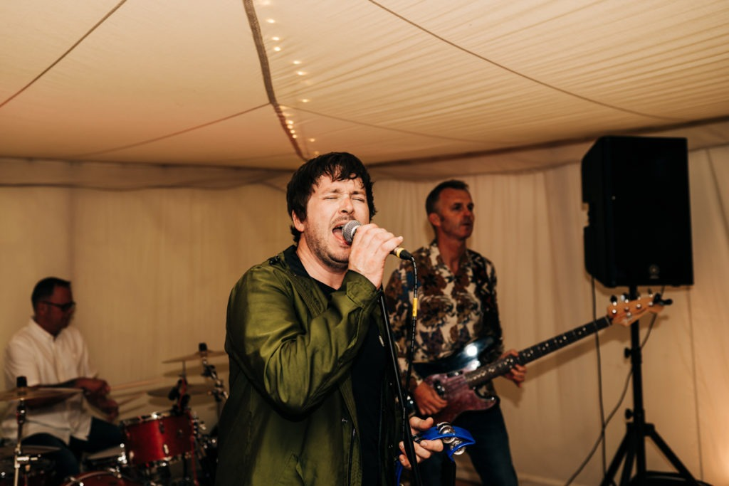 band at Brenley Farm B&B