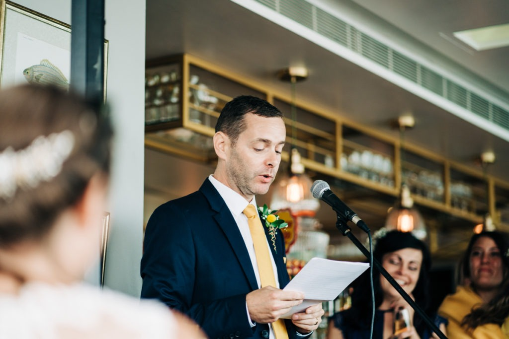 groom speech at Rocksalt