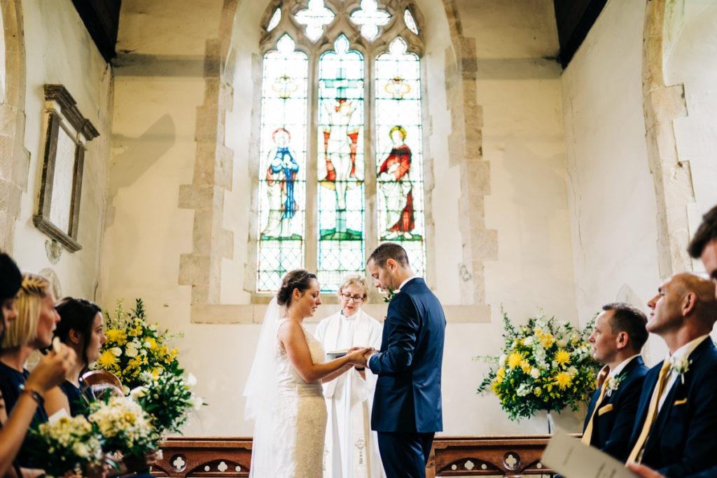Shadoxhurst church wedding