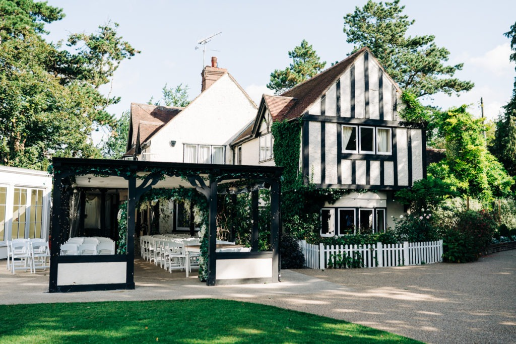 Hayne House Kent wedding venue in Hythe