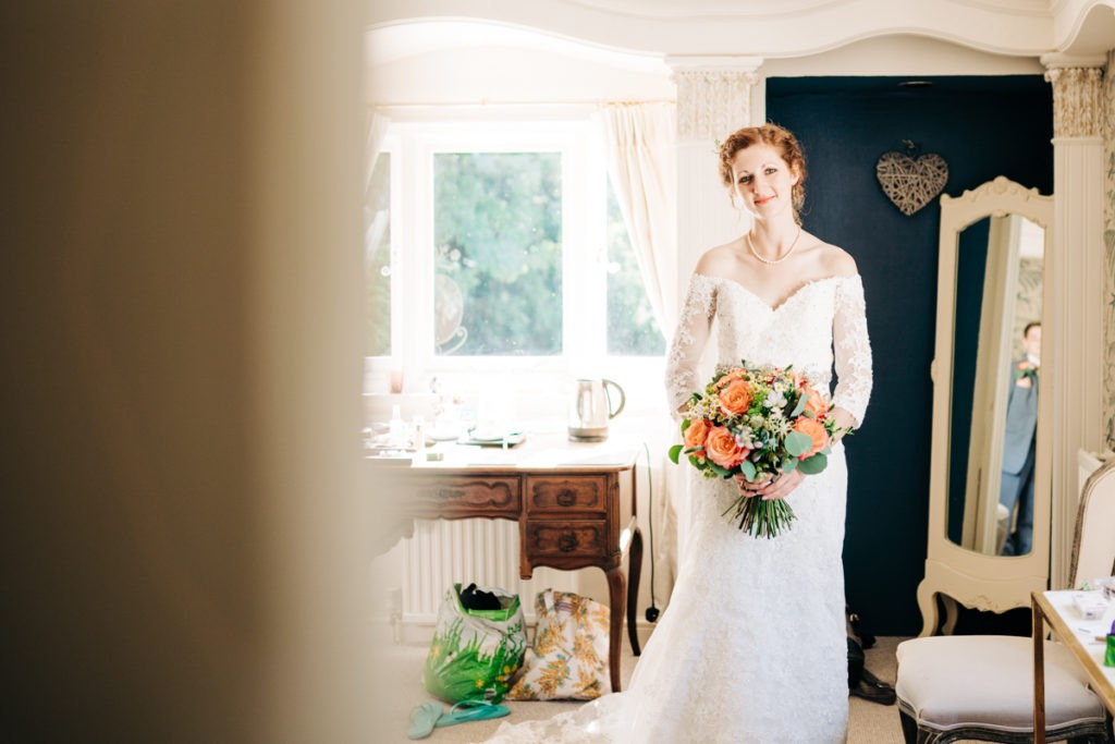bridal portrait at Hayne House