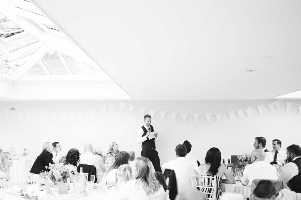 Best man speech at Hayne House