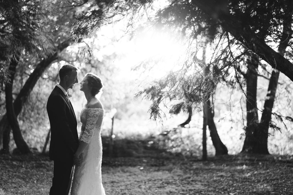 Golden hour at Hayne House Kent Wedding