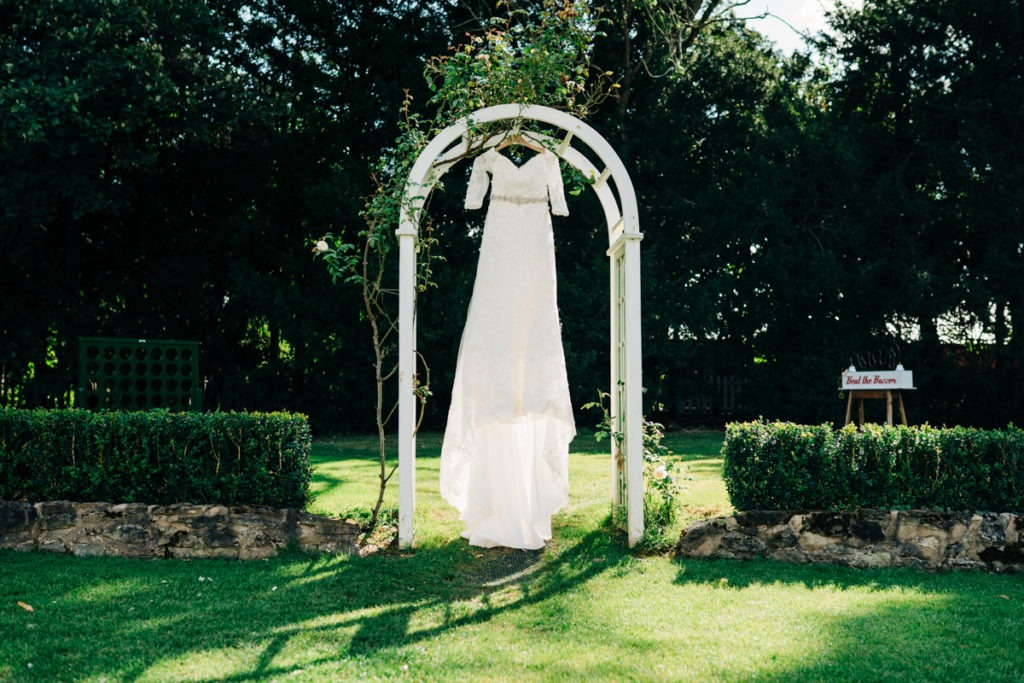 Wedding Dress at Hayne House Wedding
