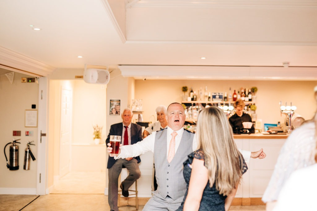 dance floor shots from Hayne House wedding 2019