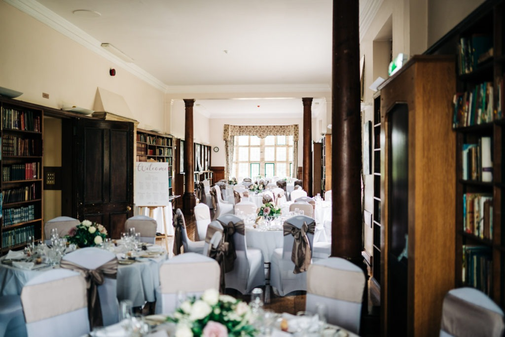 schools at Somerhill wedding arrangement