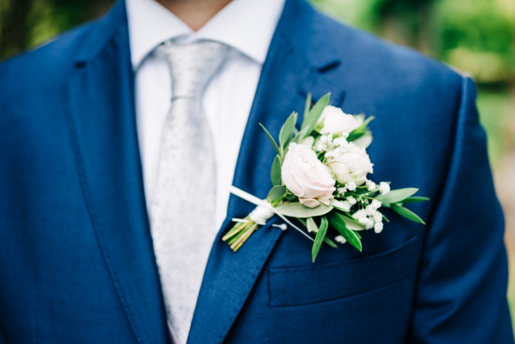 schools at Somerhill wedding groom