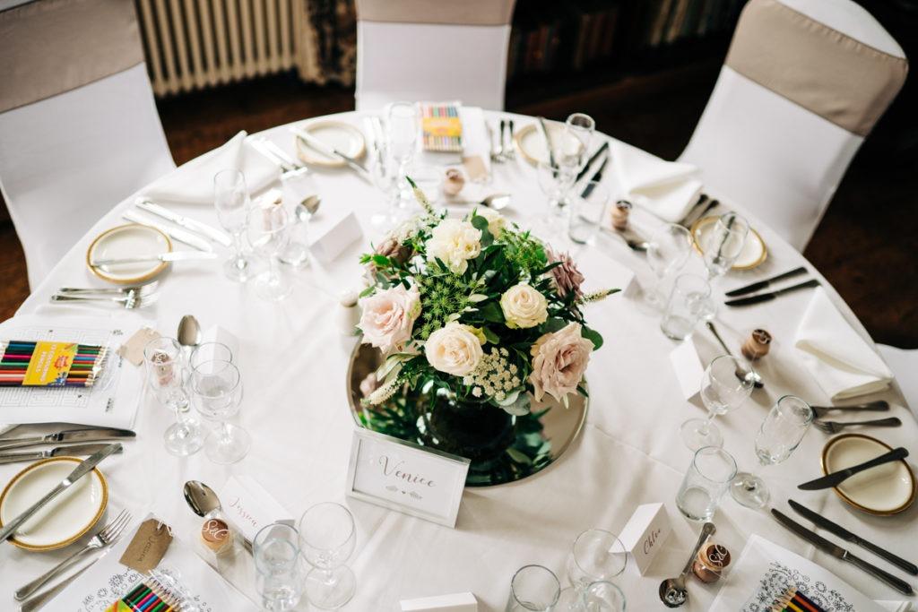 schools at Somerhill wedding wedding decor
