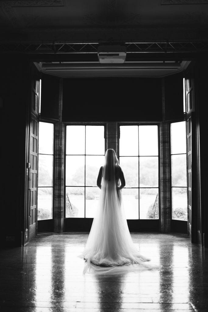 schools at Somerhill wedding bridal portrait
