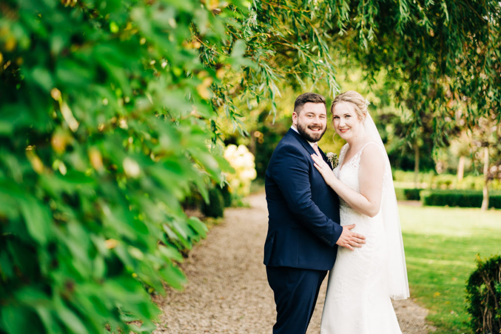 couple portrait at secret garden kent
