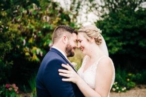couple portrait at secret garden kent