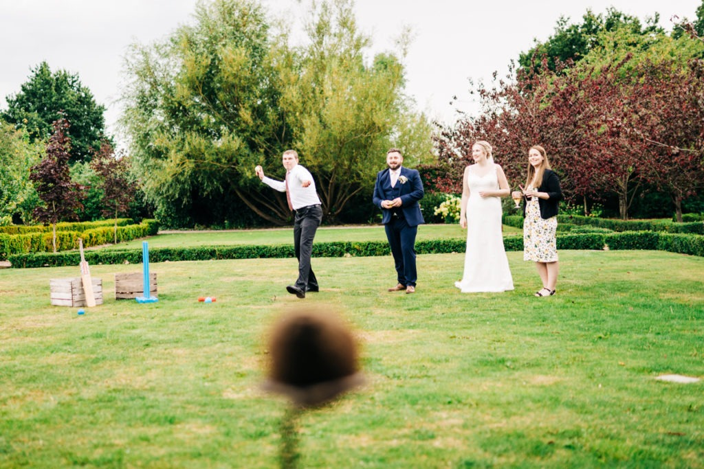 garden game at Secret Garden Kent