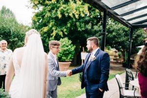 groom at Secret Garden Kent
