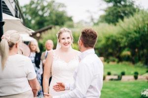 bride at Secret Garden Kent