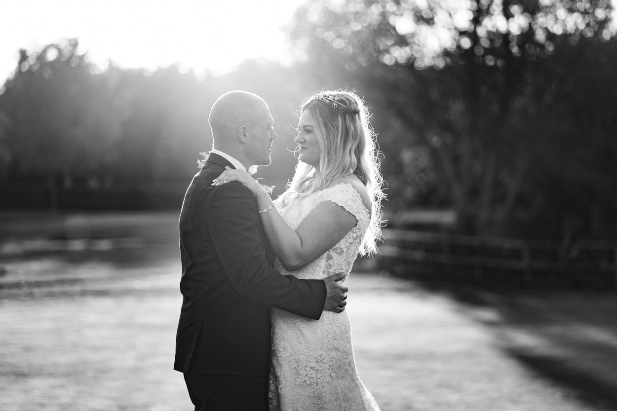 kent wedding photographer Bride and groom at Weald of Kent