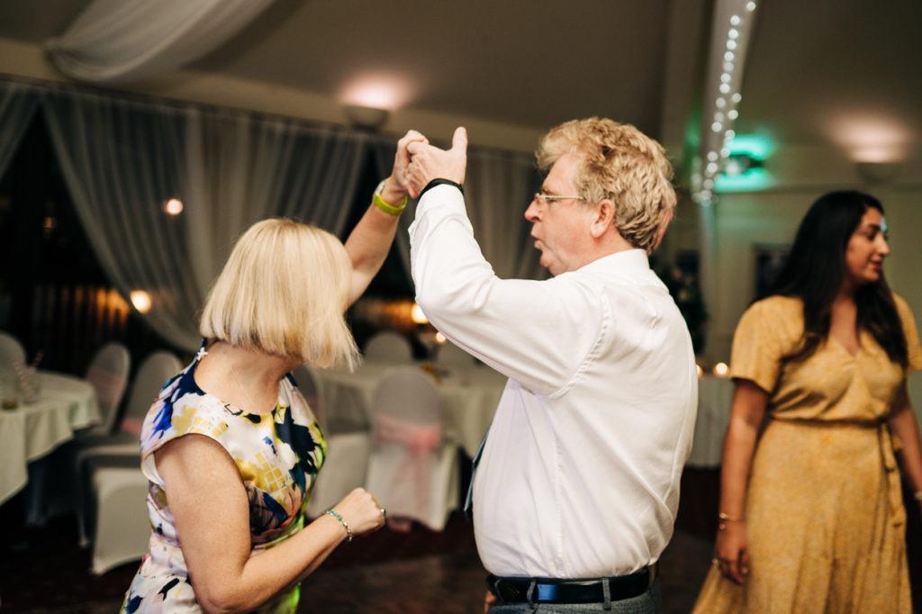 Dancing at The Weald of Kent wedding