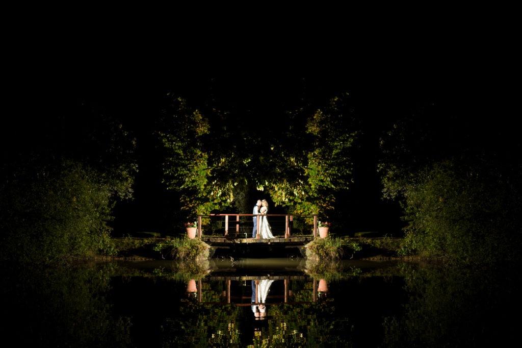 Night time Welad of Kent Wedding