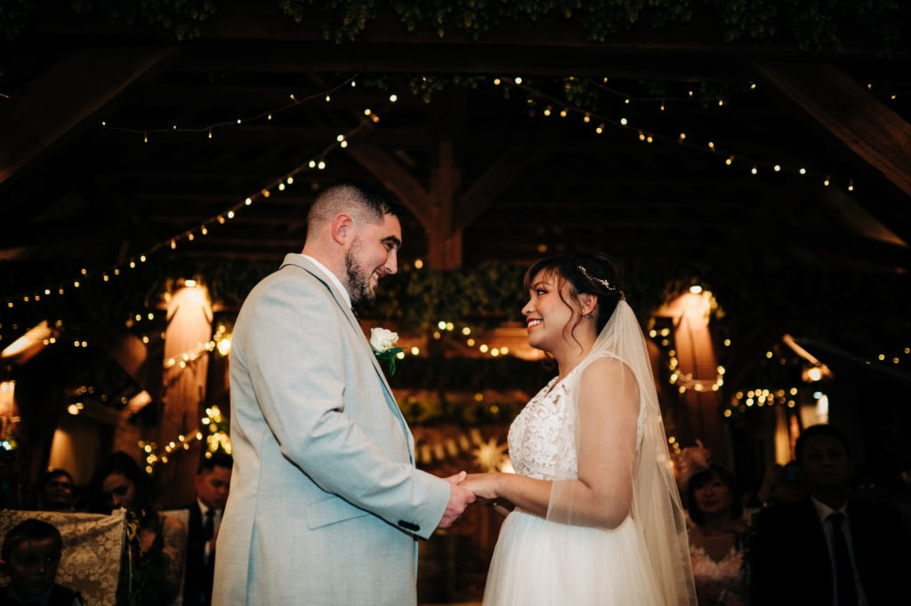 Ferry House Inn twilight wedding