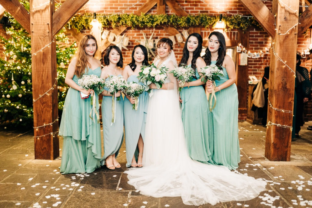 Bridal squad at Ferry House Inn