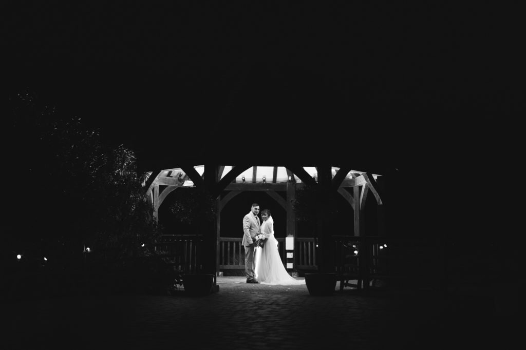 couples portraits in winter at Ferry House Inn