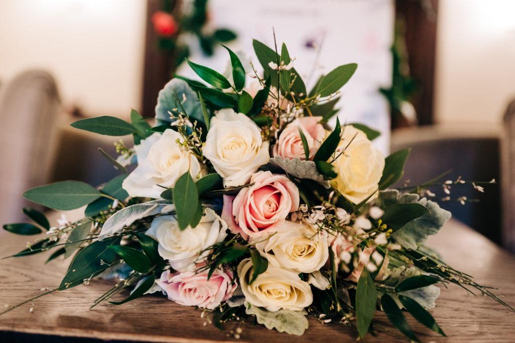 bridal flowers at Ferry House Inn