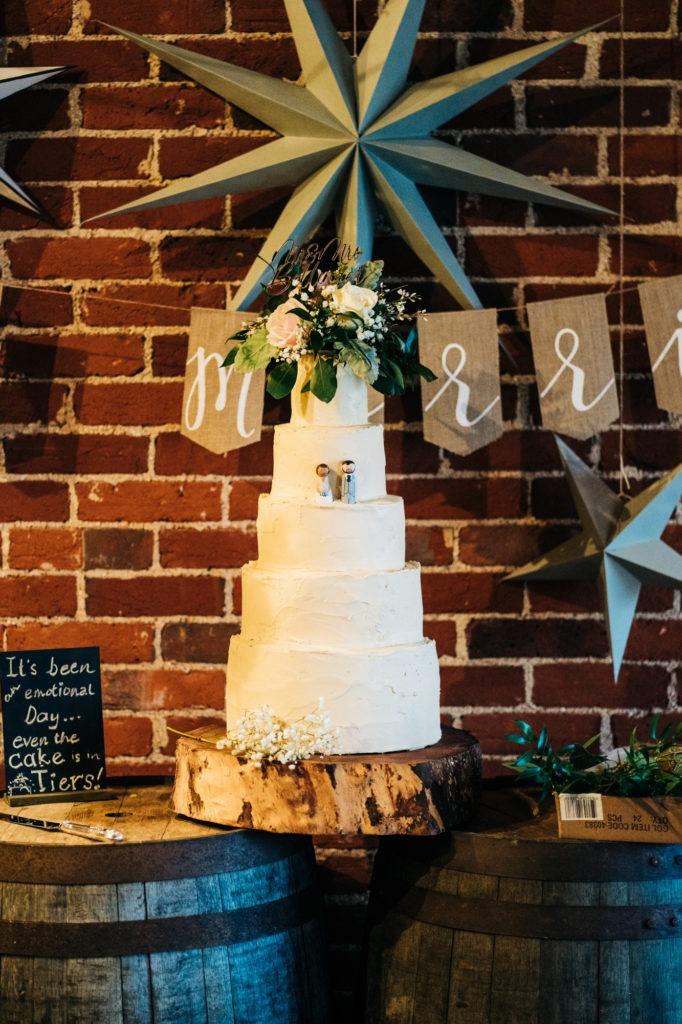 wedding cake ferry house inn