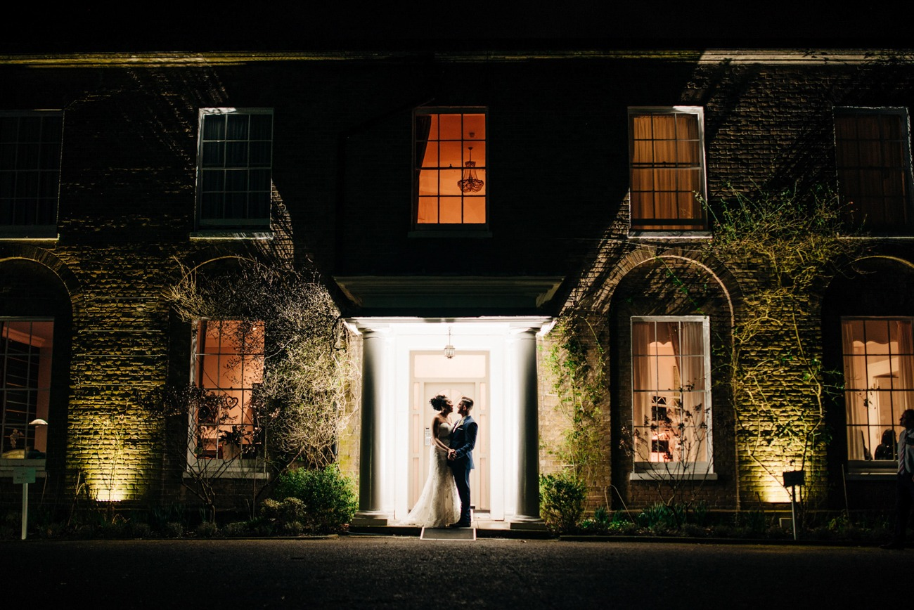 wedding at Hadlow Manor