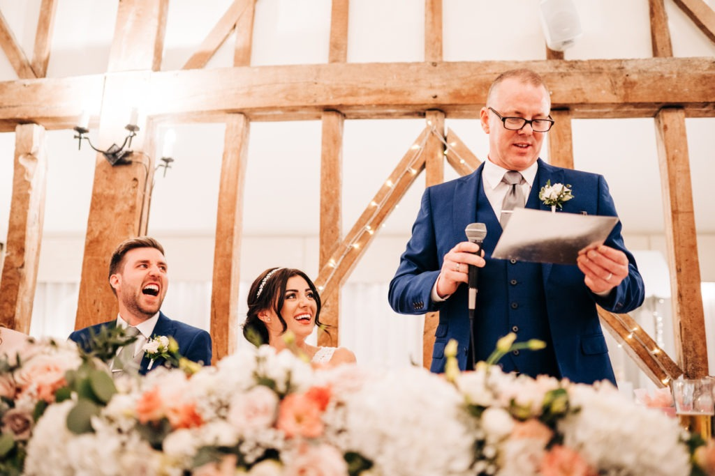 father of the groom speech in Essex